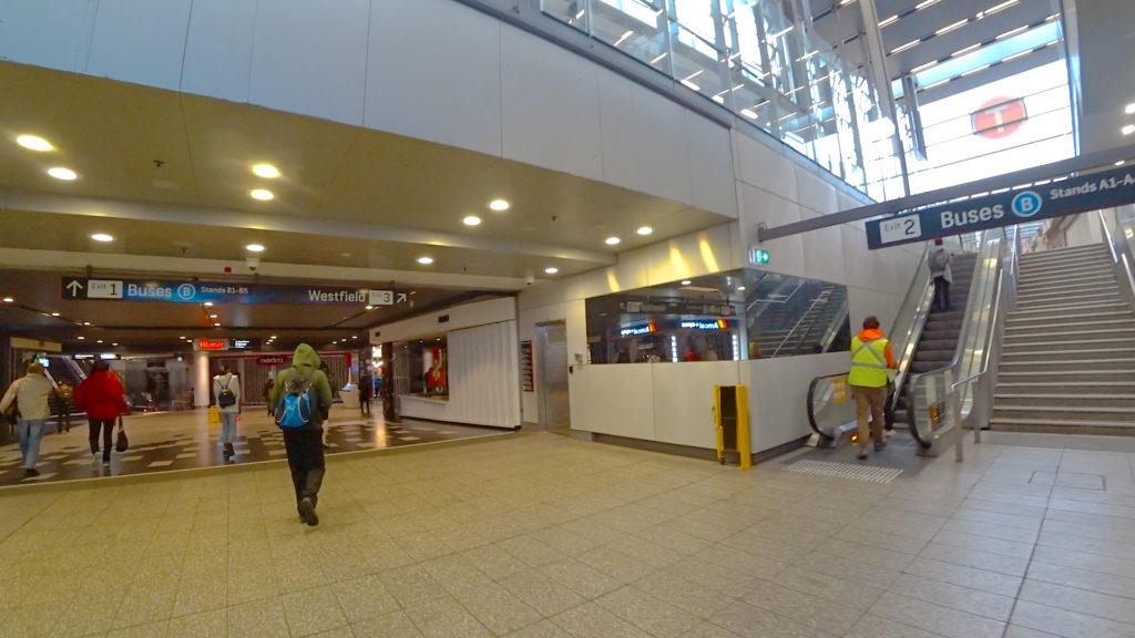 パラマタ駅出口123