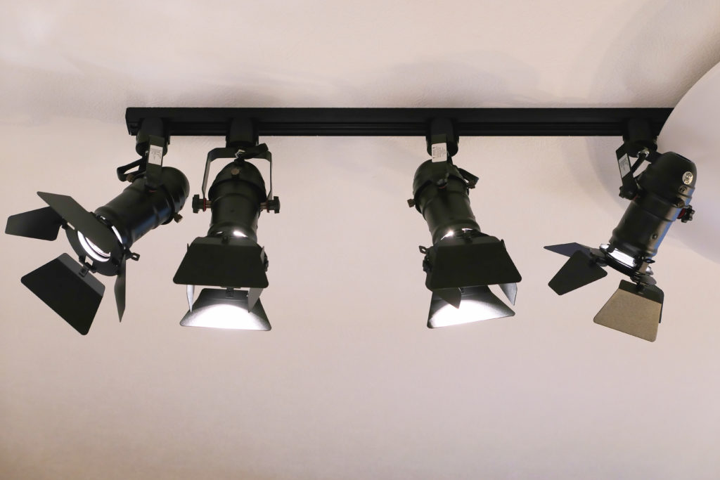 LEDスポットライト取り付け正面