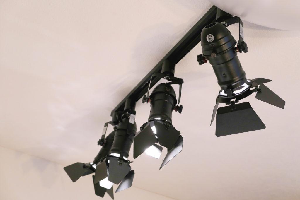 LEDスポットライト取り付けけサイド