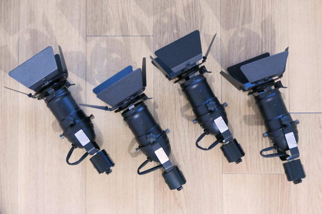 LEDスポットライトSPOT-DLS509F4つ