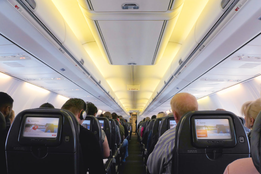 QF517ボーイング737-300ブリスベン発シドニー行き座席