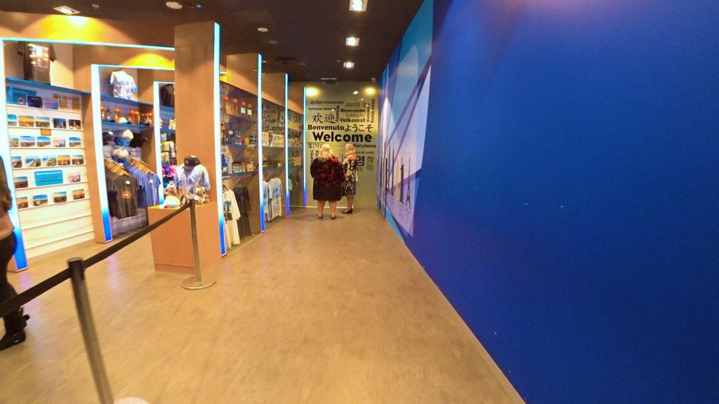 Q1スカイポイント展望台エレベータホール