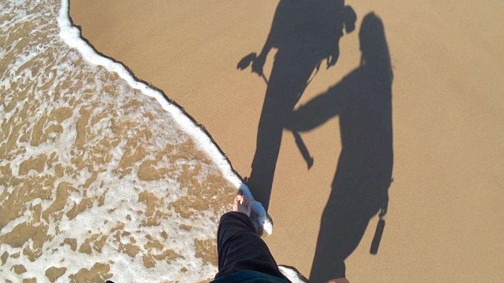 ゴールドコーストビーチウォーキング
