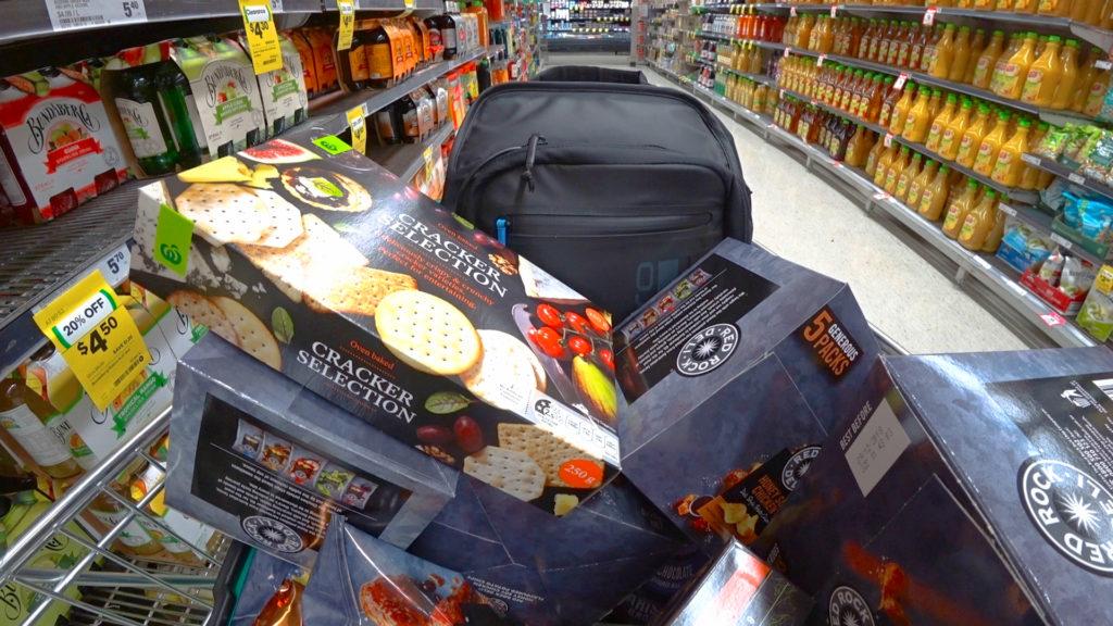 ショッピングカート満タン