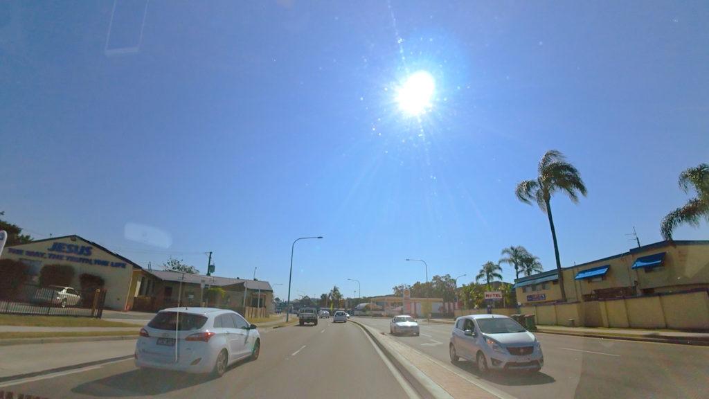 オーストラリア左側通行