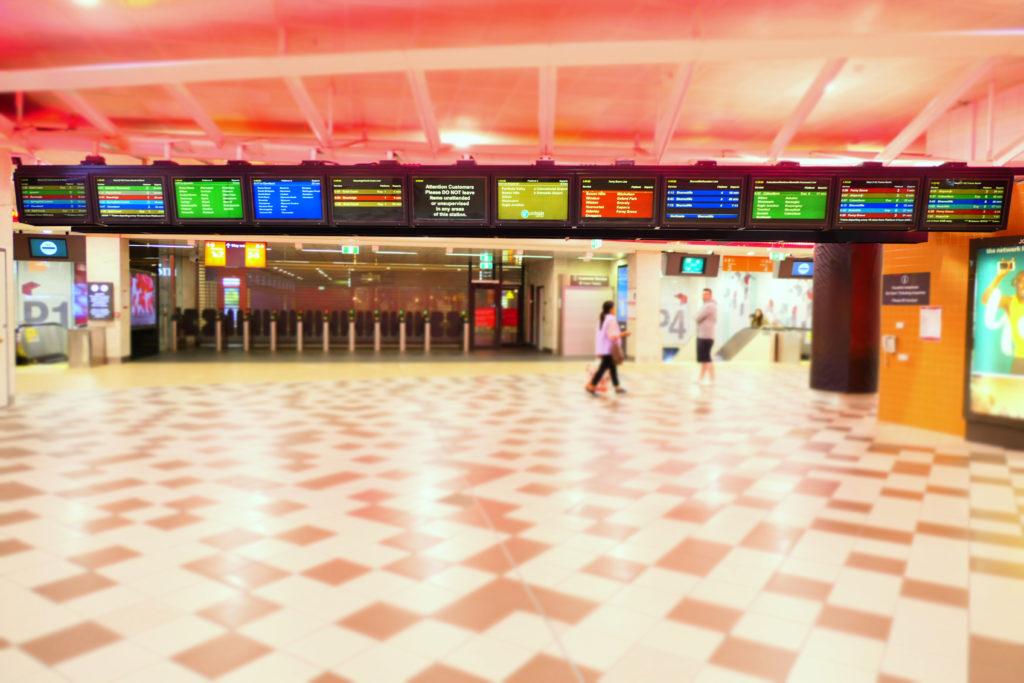 セントラル駅ブリスベンコンコース