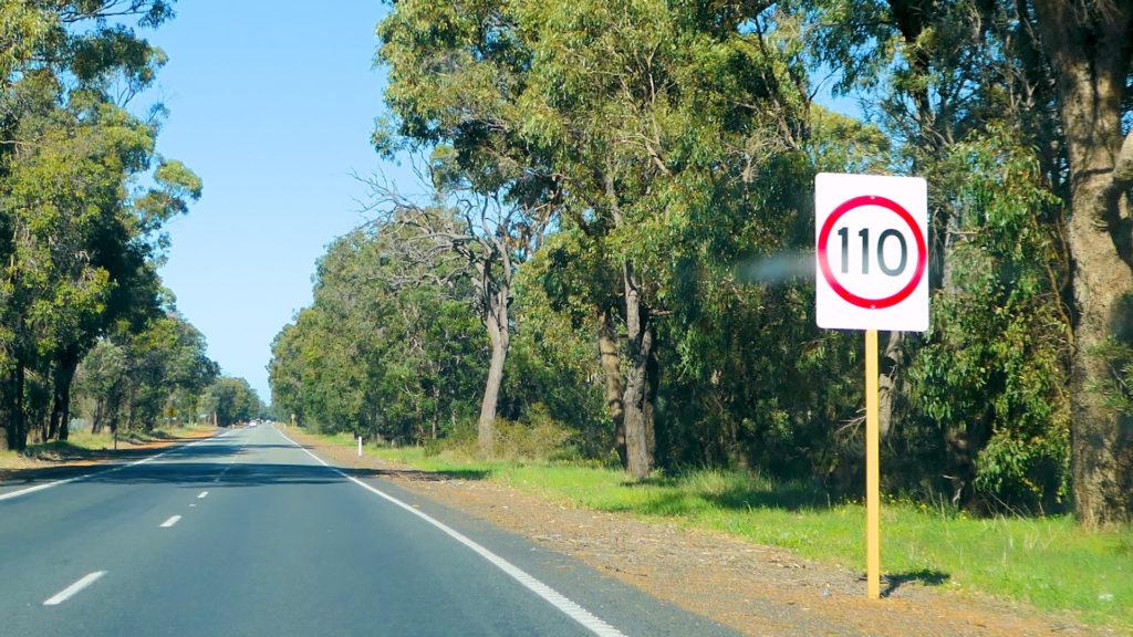 制限速度110km/h