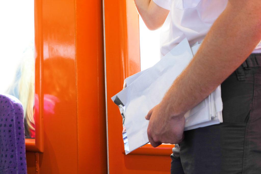 ロットネストエクスプレスフェリーエチケット袋