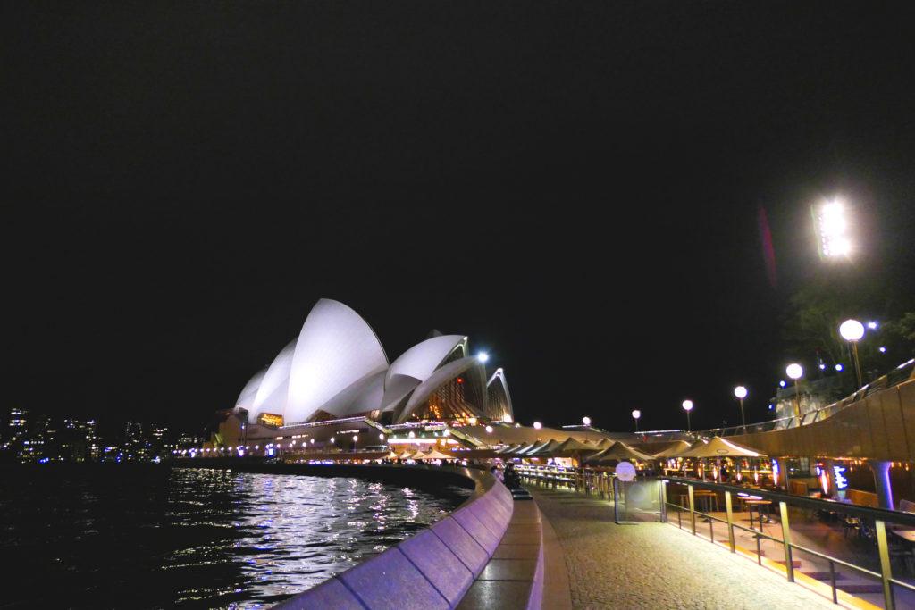 シドニー・オペラハウスコンコース