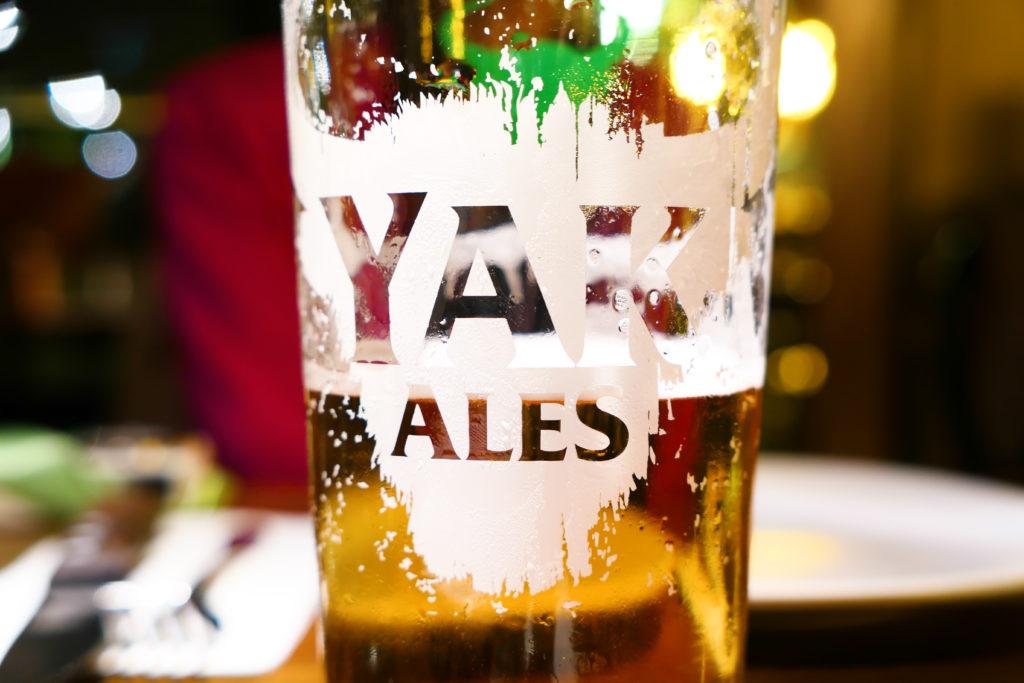 ヤークエールビールグラス