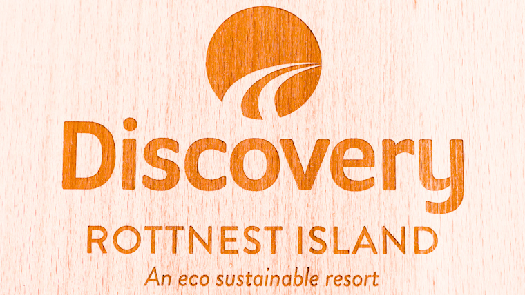 ディスカバリーロットネストアイランドスタンダード環境に優しいリゾートロゴ
