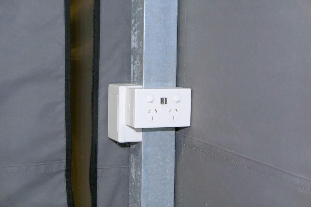 ディスカバリーロットネストアイランドNo97スタンダードテントアウトレット(コンセント)USB付
