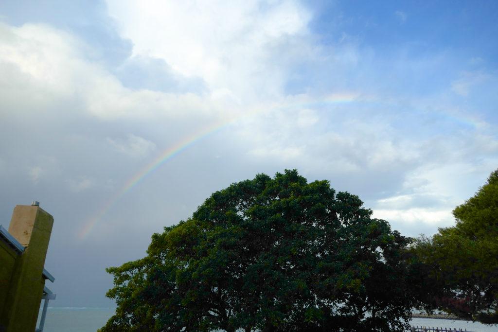 ロットネスト島虹