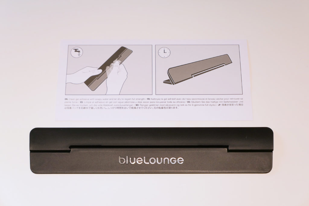 blueLoungeのスタンドKickflip(キックフリップ)MacBook Pro 15インチ向け 開封 同梱物