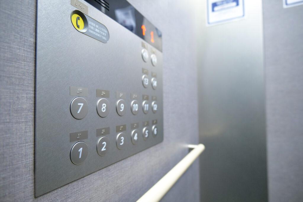 HOTEL & SPA センチュリーマリーナ函館 1階 エレベータ 上昇