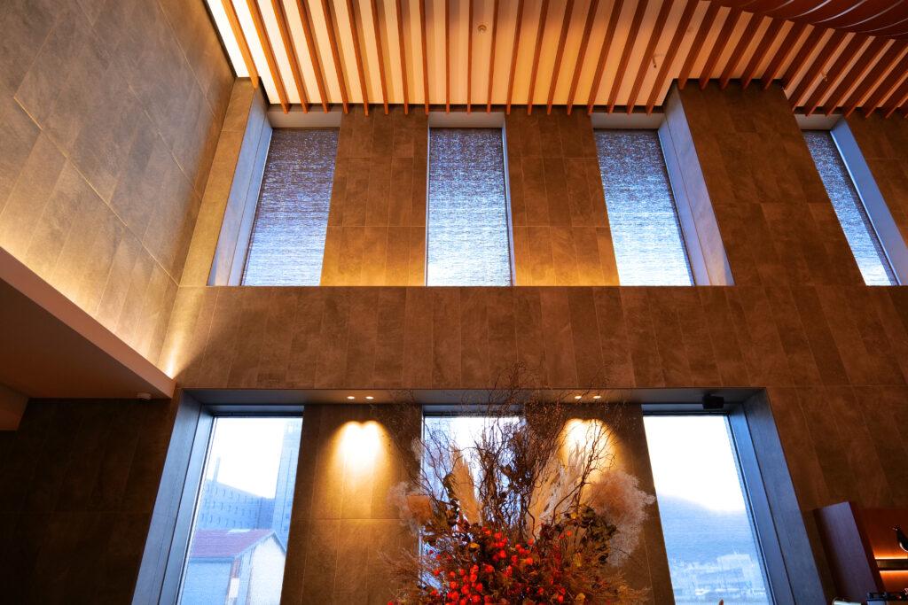 HOTEL & SPA センチュリーマリーナ函館 1階 磨りガラス