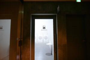 HOTEL & SPA センチュリーマリーナ函館 1階 ランドリーベンダールーム ドア 前