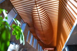HOTEL & SPA センチュリーマリーナ函館 1階 ロビー 天井