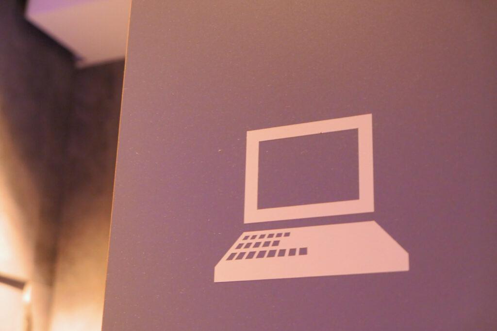 HOTEL & SPA センチュリーマリーナ函館 1階 PCコーナー ロゴ