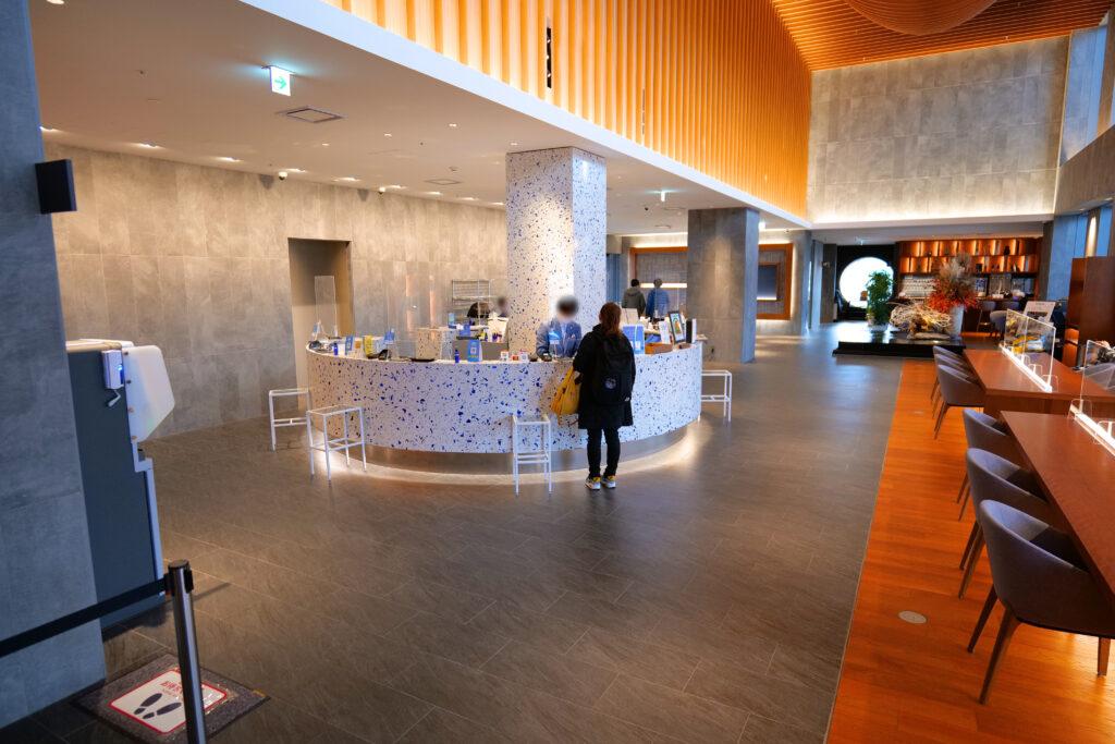 HOTEL & SPA センチュリーマリーナ函館 1階 受付(フロント) 朝