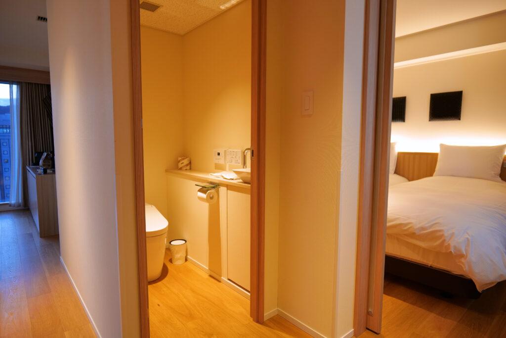 HOTEL & SPA センチュリーマリーナ函館 13階 ザロイヤルフロア コーナースイート レストルーム(トイレ・お手洗い)