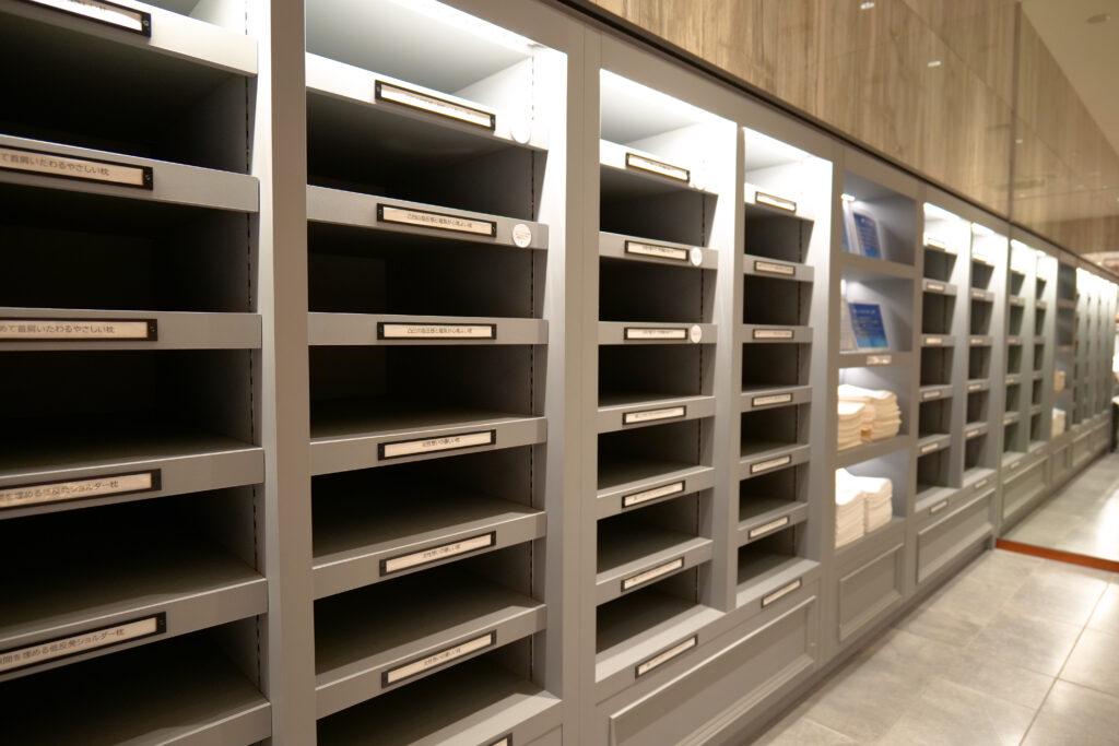 HOTEL & SPA センチュリーマリーナ函館 2階 ショップ ユーヨーマルシェ ピローズバー棚