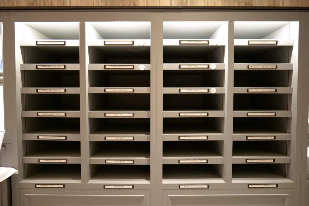HOTEL & SPA センチュリーマリーナ函館 2階 ショップ ユーヨーマルシェ ピローズバー棚正面