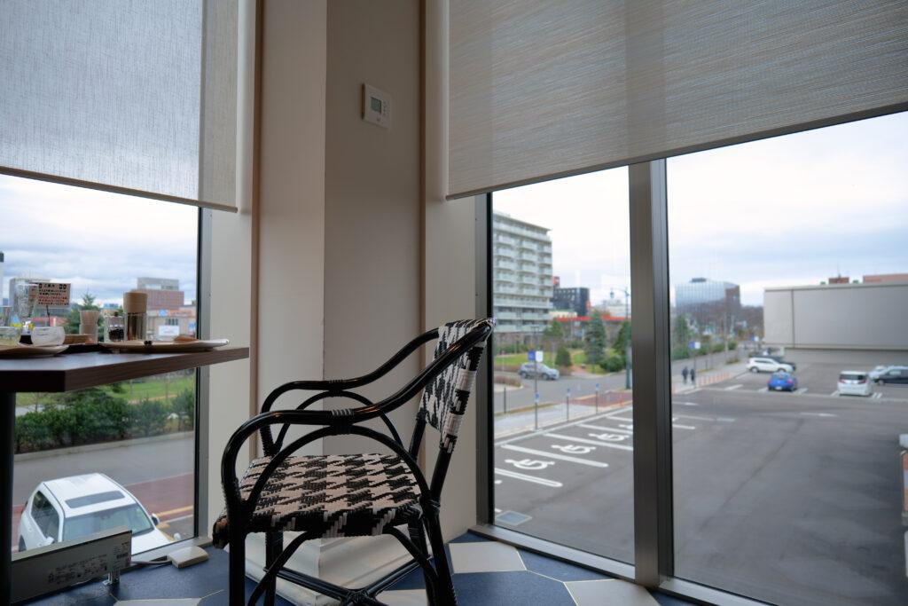 HOTEL & SPA センチュリーマリーナ函館 朝食(ブレックファスト) ユーヨーテラスハコダテ 角窓席