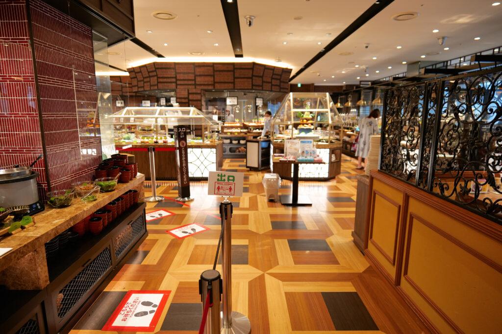 HOTEL & SPA センチュリーマリーナ函館 朝食(ブレックファスト) ユーヨーテラスハコダテ 出口看板