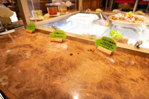HOTEL & SPA センチュリーマリーナ函館 朝食(ブレックファスト) ユーヨーテラスハコダテ メニュー サラダ 12