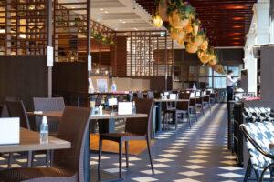 HOTEL & SPA センチュリーマリーナ函館 朝食(ブレックファスト) ユーヨーテラスハコダテ テーブル席