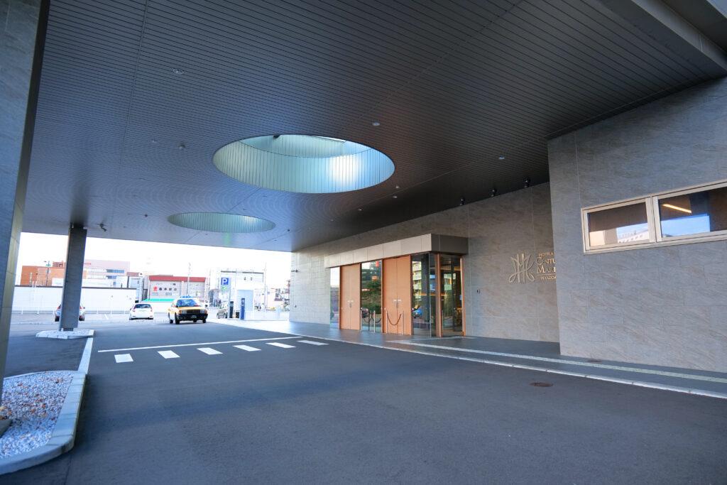 HOTEL & SPA センチュリーマリーナ函館 エントランス