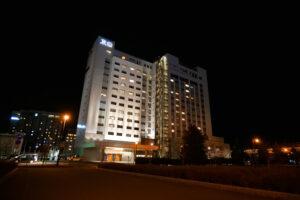 HOTEL & SPA センチュリーマリーナ函館 夜景 前側