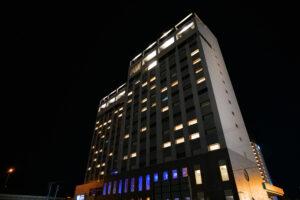 HOTEL & SPA センチュリーマリーナ函館 夜景 後ろ側