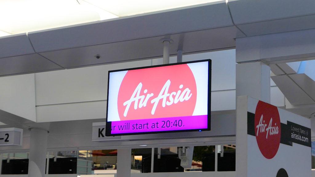 羽田空港第3ターミナル(国際線)Kカウンタースタート20:40