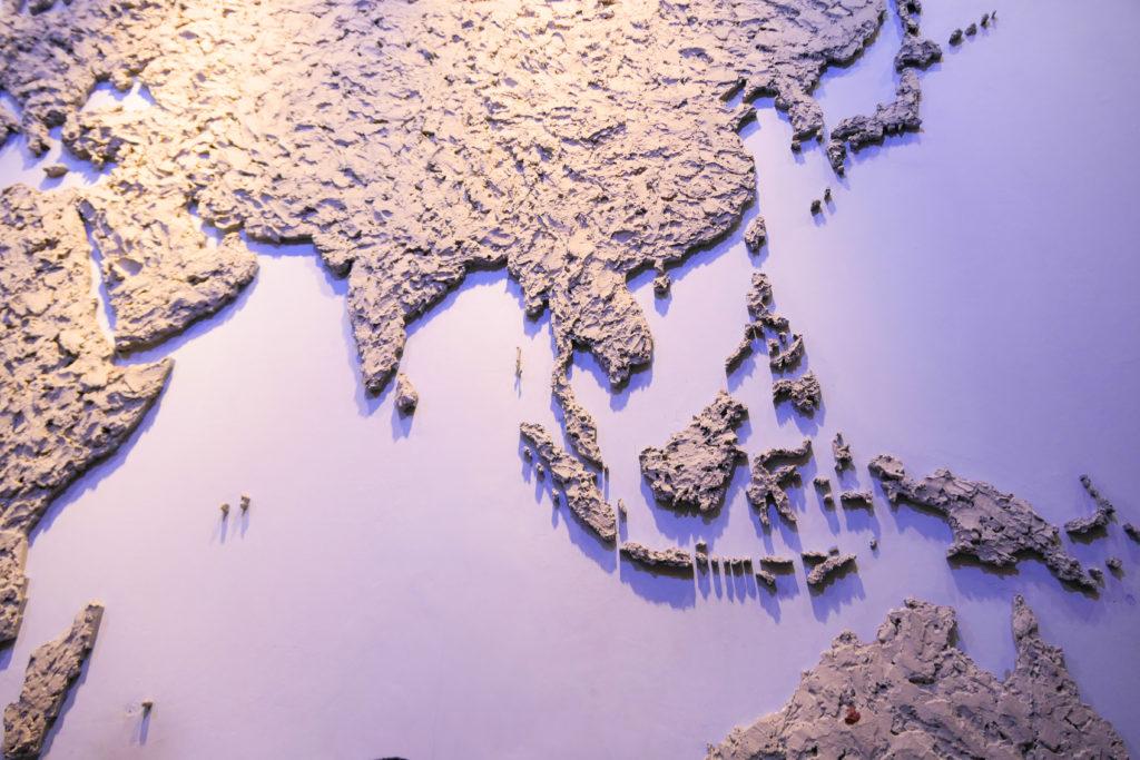 クアラルンプール国際空港KLIA2 世界地図