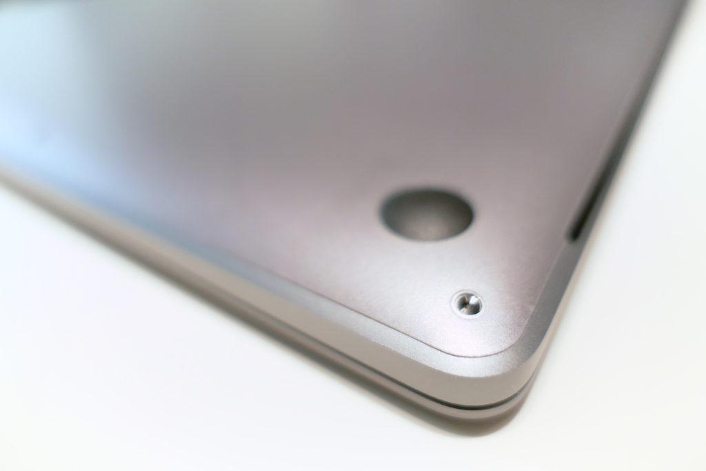 LENTION 16インチMacBook Pro 2019 全面保護シルバースキンシール 液晶保護フィルム 5テンセット 3M技術4H硬度(スペースグレイ)角