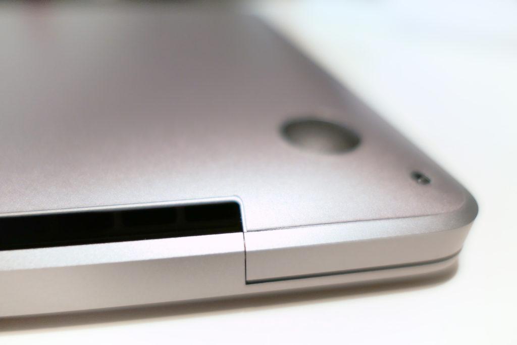 LENTION 16インチMacBook Pro 2019 全面保護シルバースキンシール 液晶保護フィルム 5テンセット 3M技術4H硬度(スペースグレイ)排熱口エッジ