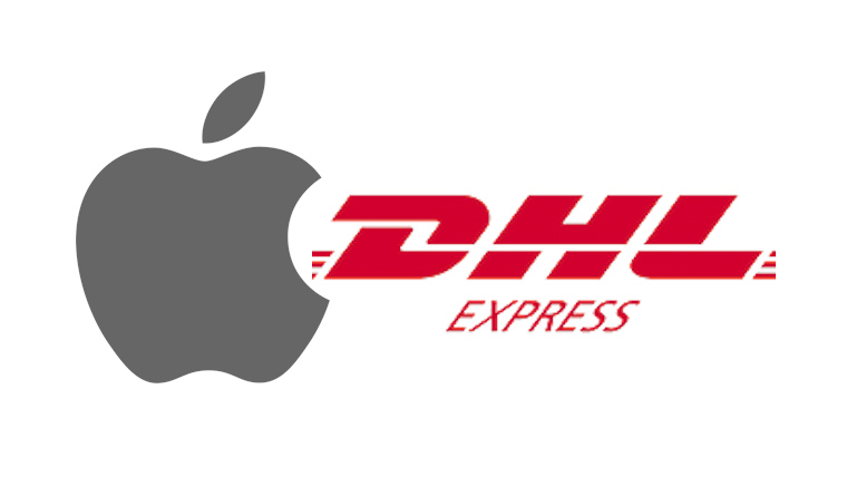 MacBookカスタマイズ注文配達日 Apple DHL Express