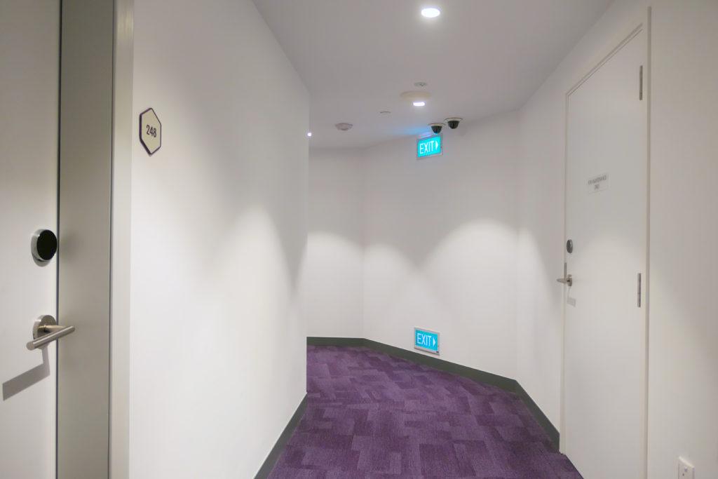 ヨーテルエア シンガポール チャンギ エアポート キャビン248