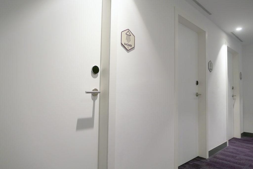 ヨーテルエア シンガポール チャンギ エアポート シャワールーム